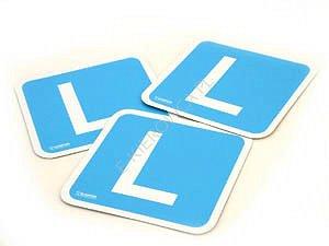 """naklejki na samochód """" L """""""