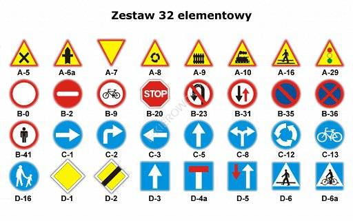 zestaw 32 elementowy