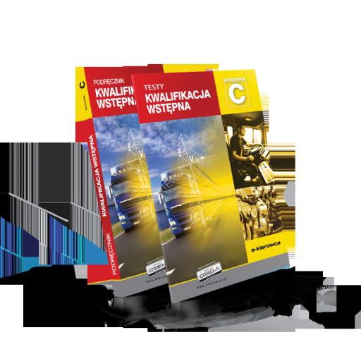 podręcznik + testy kwalifikacja wstępna kategoria C