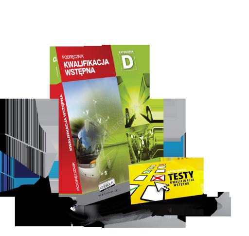 podręcznik + testy kwalifikacja wstępna kategoria D
