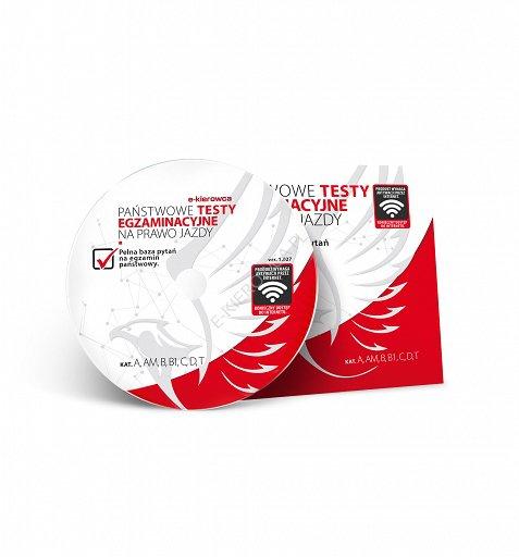 państwowe testy egzaminacyjne na prawo jazdy dvd