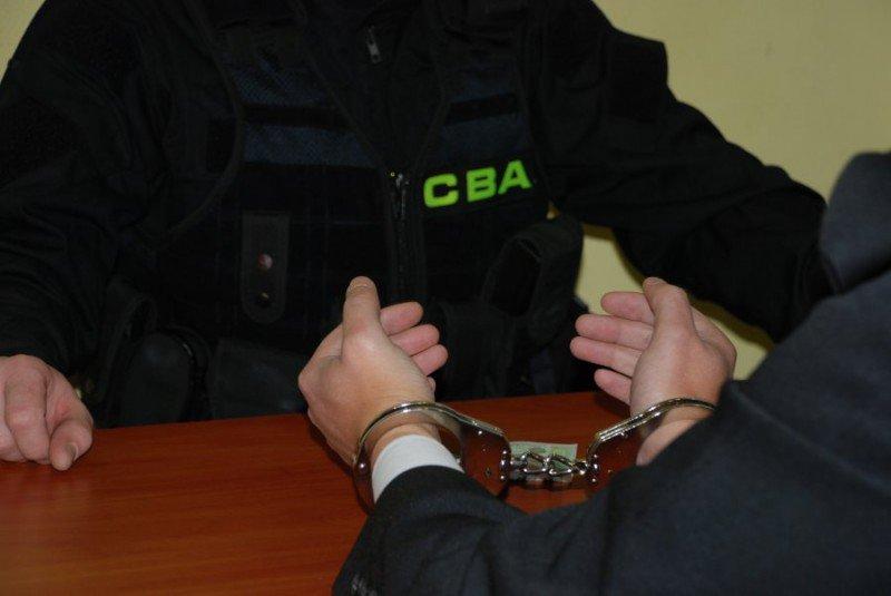 aresztowanie mężczyzny