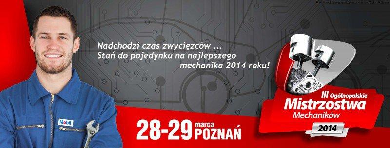 """banner """" Mistrzostwa Mechaników """""""
