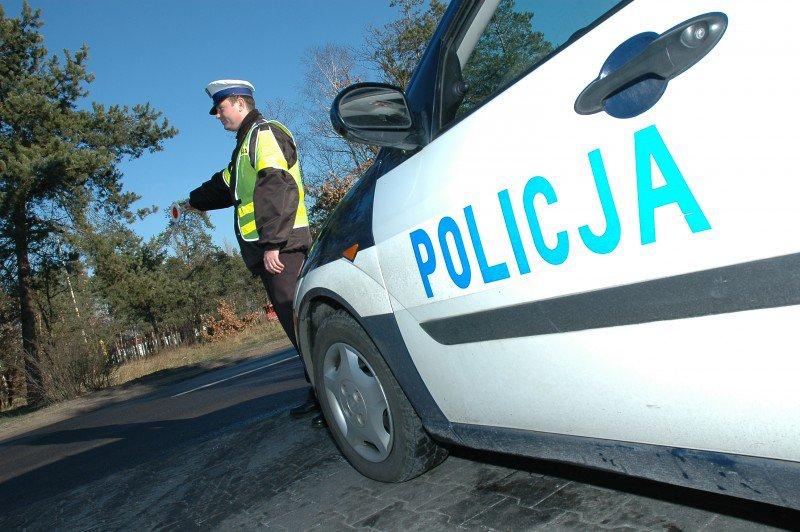 policja, kontrola drogowa