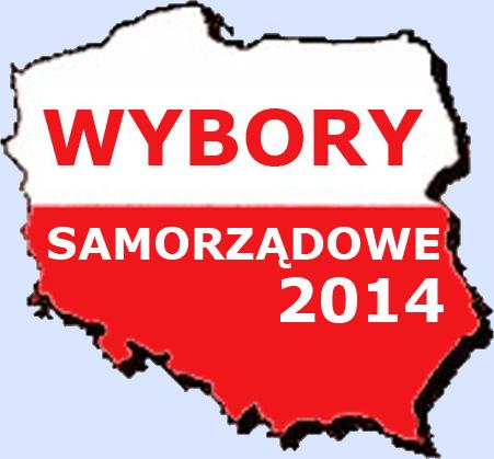 logo WYBORY SAMORZĄDOWE 2014