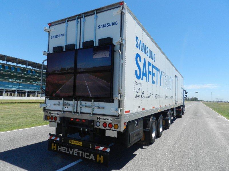 ciężarówka samsung