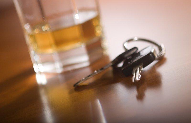 alkohol + kluczyki