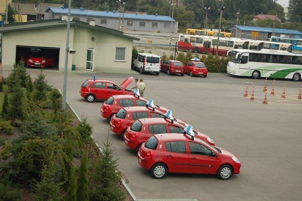 samochody szkoleniowe MORD Tarnów