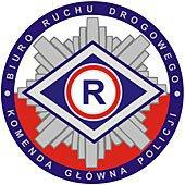 logo BIURO RUCHU DROGOWEGO KOMENDA GŁÓWNA POLICJI