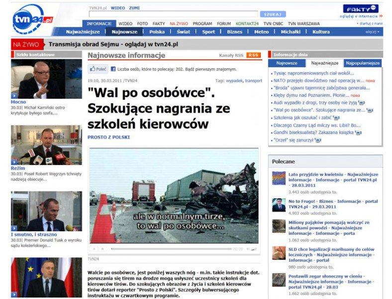 TVN24.PL strona internetowa
