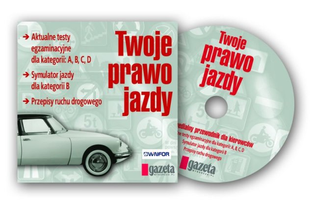 """""""Twoje prawo jazdy"""", czyli Winfor z """"Gazetą Wyborczą"""" DVD"""