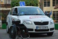 samochód szkoleniowy dla osób niepełnosprawnych