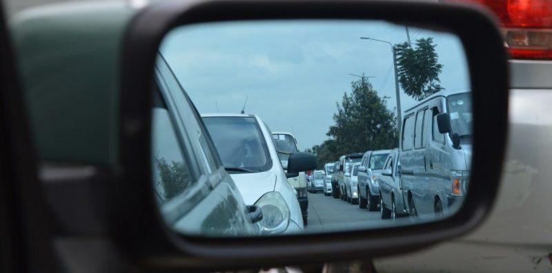 boczne lusterko od samochodu