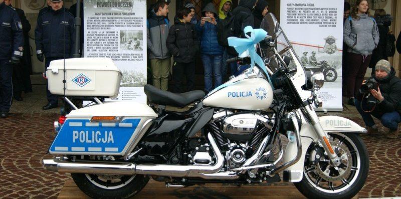 motor policyjny