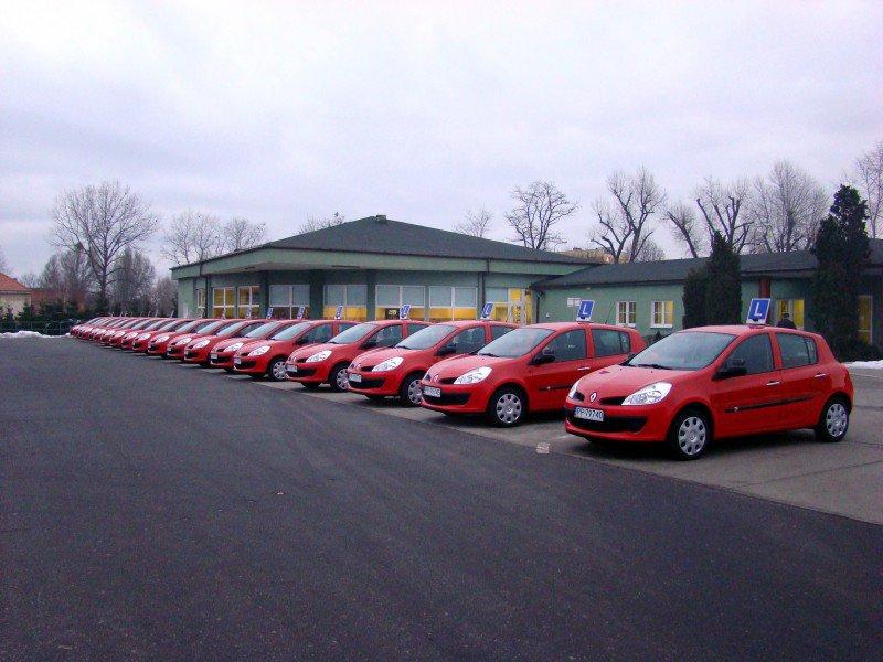 samochody egzaminacyjne