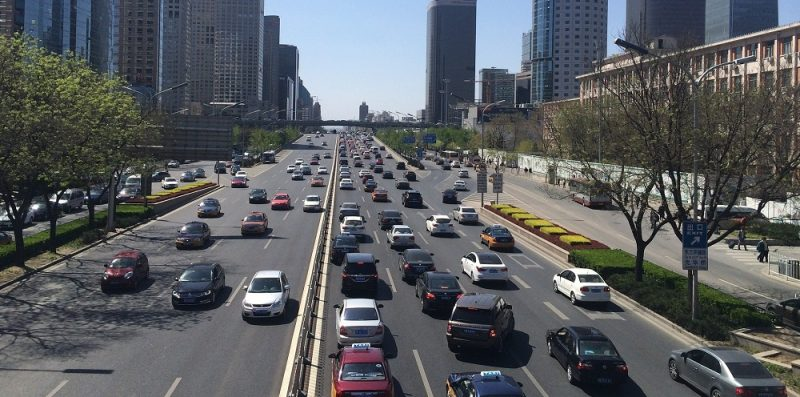 Chiny, ruch drogowy
