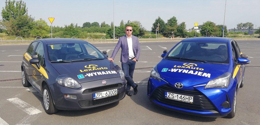 Piotr Markiewicz, właściciel firmy Lex Auto