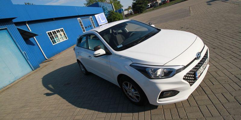 Hyundai i20 samochód szkoleniowy