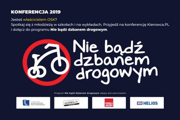 konferencja nie bądź dzbanem drogowym
